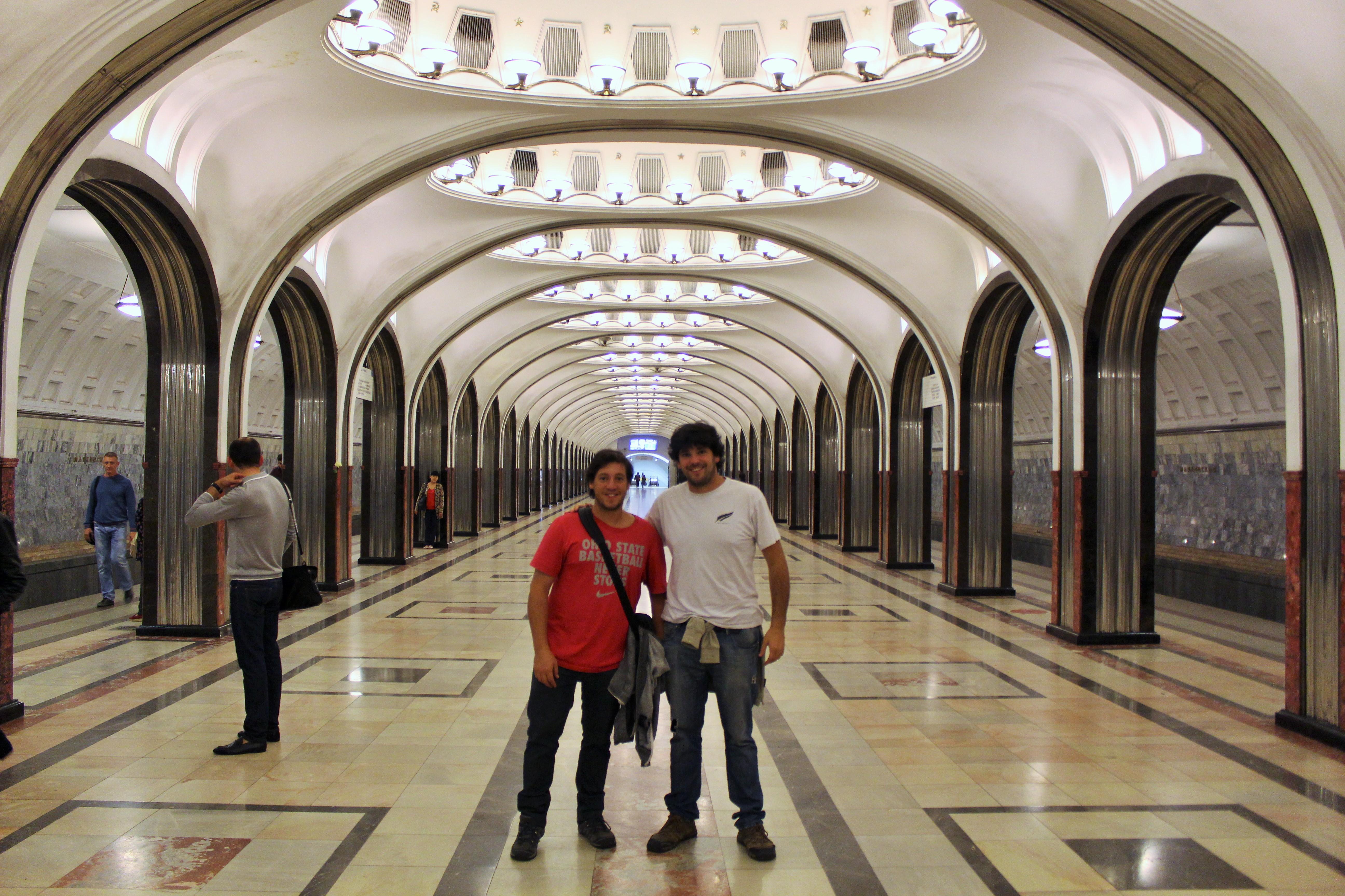 Palacios del pueblo: las mejores estaciones de metro de Moscú y San ...