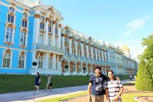 El Palacio de Caterina de Pushkin