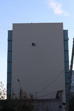 El vecino acaudalado que puso aire rompió con el paisaje del edificio.
