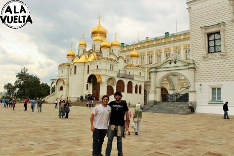 El Kremlin y su Plaza de las Catedrales, espectacular.
