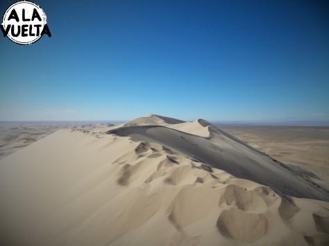 Las dunas a la vista